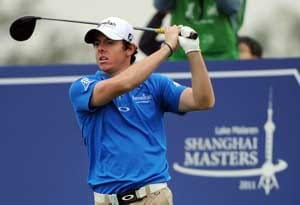 McIlroy keeps his nose in front in Shanghai