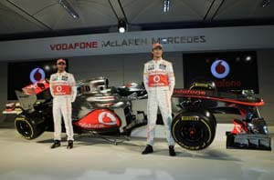 McLaren 2013 car design is with Hamilton in mind