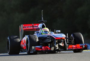 McLaren's Sergio Perez tops Day 2 of testing in Barcelona