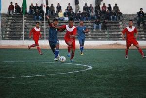 Dr T Ao Football: Meghalaya beat Assam 3-0, in semis