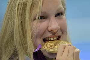 Olympics: Lithuanian teen wonder an 'adopted Brit'