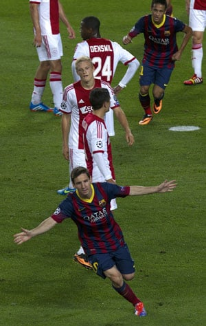 UEFA Champions League round-up: Hat-trick man Messi sparkles, Chelsea shocked