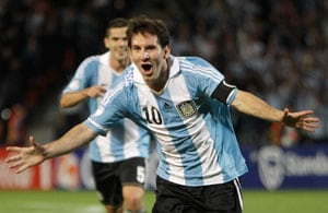 World Cup qualifiers: Lionel Messi strikes as Argentina sink Uruguay