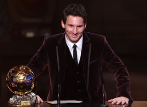 Lionel Messi, Cristiano Ronaldo and Franck Ribery shortlisted for Ballon d'Or