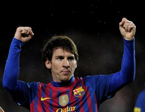 Barcelona coach delighted with Lionel Messi