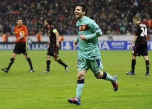 UEFA Champions League: Barca all but in last eight