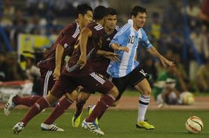 Messi inspires Argentina to 1-0 win over Venezuela