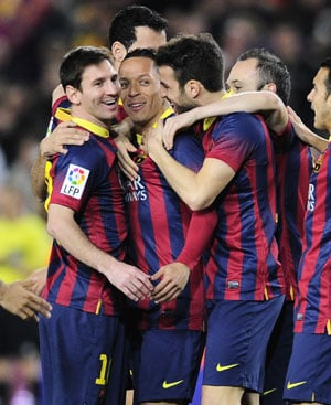 La Liga: Lionel Messi scores twice in Barcelona's 6-0 rout of Rayo Vallecano