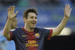 La Liga: Barcelona held as Lionel Messi completes 19-game goal run