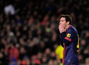 Lionel Messi misses Barca training due to fever