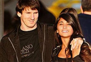 Lionel Messi's newborn already a member of Argentine soccer club