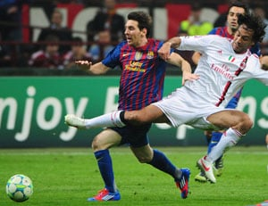 UEFA Champions League: AC Milan hold Barcelona to goalless stalemate