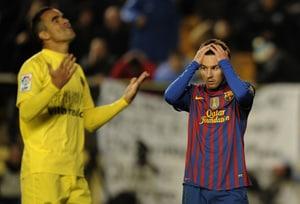 Barcelona held to a draw at Villarreal