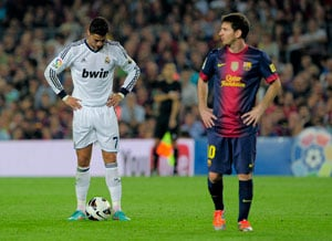 Lionel Messi, Cristiano Ronaldo double duty in charged El Clasico draw