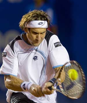 Ferrer closes in on Mexican Open title