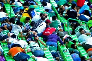 Mexican soccer match suspended because of gunfire