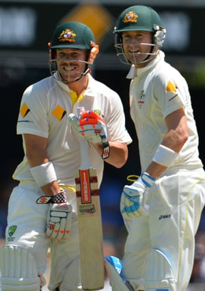 David Warner records maiden Ashes ton, Michael Clarke becomes 6th Aussie to post 25 hundreds