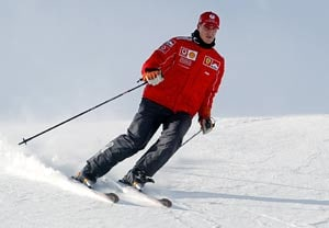 Slight improvement in Michael Schumacher's condition, say doctors