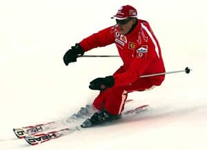 Michael Schumacher in coma, 'critical' after ski accident