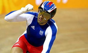French track cyclist pays the price
