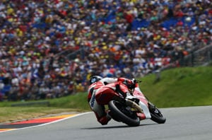 Mahindra on front row for German Grand Prix