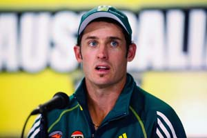 Hussey rested, Australia bring in Mitch Marsh