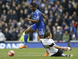 FA Cup: Mikel, Oscar score as Chelsea overcome Derby County