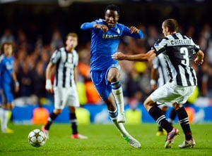 Chelsea's Mikel says sorry for costly blunder