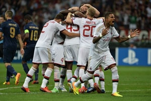 AC Milan into UEFA Champions League group stage with 3-0 rout of PSV
