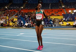 Kenyan Milcah Chemos wins women's world steeplechase title