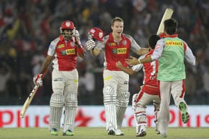 IPL 6: David Miller special fashions Punjab's thrilling win over Bangalore