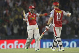 KXIP vs RCB Stats: Miller hits 3rd fastest IPL ton, scripts highest successful chase in 2013