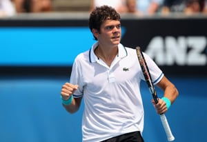 Raonic makes final in back-to-back title bid