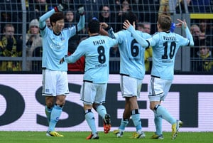 Bundesliga collated: Champions Borussia Dortmund suffer Hamburg hammering