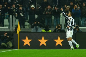 Juventus down AC Milan after Mirko Vucinic