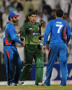 Misbah praises Afghanistan's fighting spirit