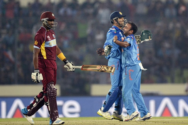 ICC World Twenty20: India crush West Indies by 7 wickets to inch towards semifinals