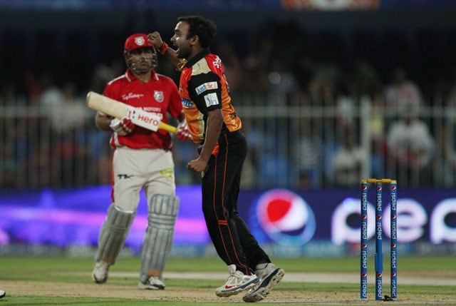 Live cricket score, Sunrisers Hyderabad