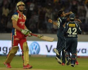 Statistical highlights: Deccan's win is Bangalore's utter dismay