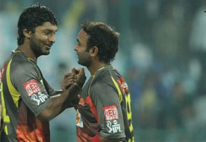 IPL 6: Skippers Jayawardena, Sangakkara credit bowlers in low-scoring thriller