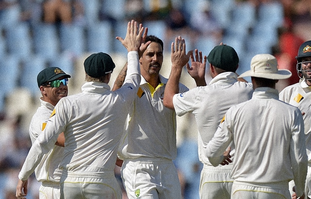 Mitchell Johnson vows to improve further against World No.1 South Africa