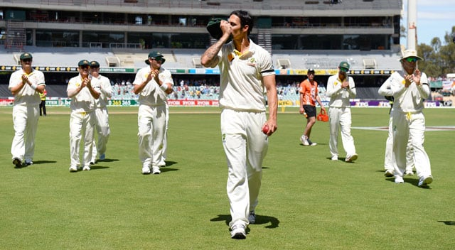 Mitchell Johnson storms to fourth in ICC Test rankings