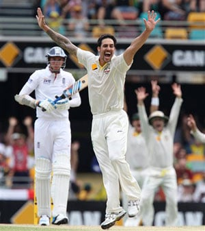 Mitchell Johnson wins coveted Allan Border Medal