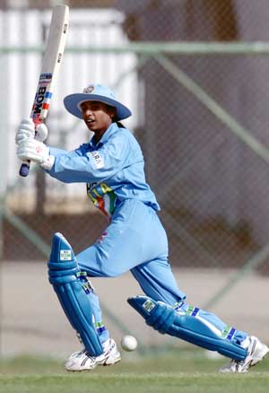 Mithali Raj fifty helps Indian eves beat Bangladesh by 16 runs in 1st T20I