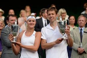 Daniel Nestor, Kristina Mladenovic win Wimbledon mixed doubles title