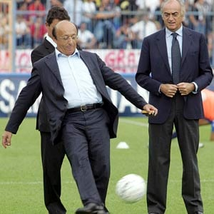 Moggi among 3 Italians banned for life by soccer body