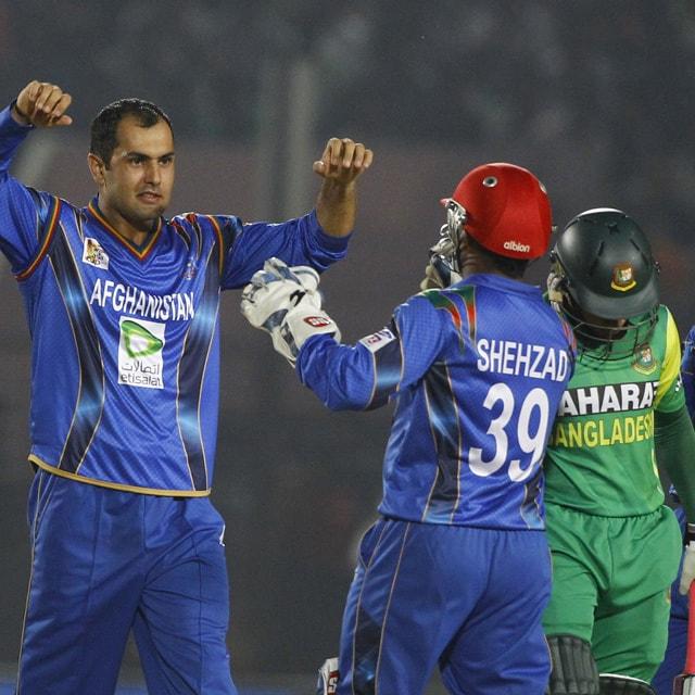 Live cricket score: Bangladesh vs Afghanistan - Mohd Nabi