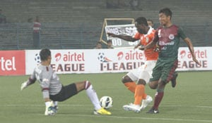 I-league: Sporting Clube de Goa beat Rangdajied United 2-1