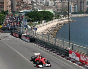 Alonso fastest in 2nd practice for Monaco Grand Prix
