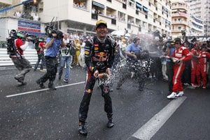 Mark Webber wins Monaco GP, Fernando Alonso takes overall lead